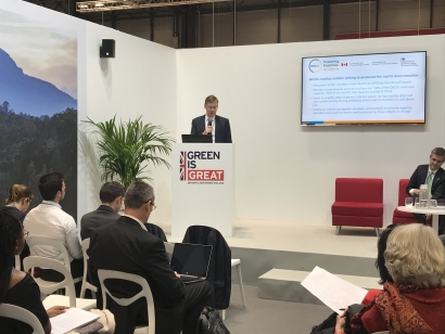 Drax anuncia en la COP25 que será la primera empresa con carbono negativo gracias a la biomasa
