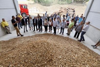 La comarca del Vallés cierra el círculo de la biomasa con un centro logístico