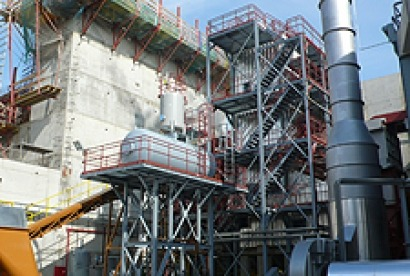 Una planta de biomasa inaugura el complejo energético de la Zona Franca