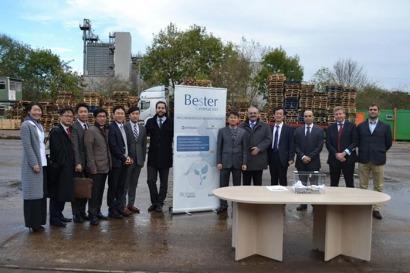 La biomasa amplía la expansión internacional de Bester Generación