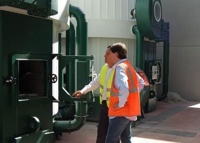 Soria presenta un proyecto a los fondos Fado para hibridar biomasa y solar térmica