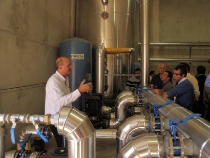 En un año se duplica la potencia de las redes de calor con biomasa en España