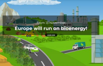 La Unión Europea cada vez vive más de la bioenergía