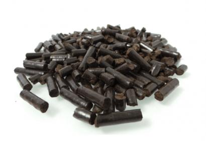 Pélets de posos de café: veinte por ciento más poder calorífico que la madera