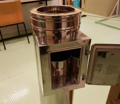 Diseñan un sistema de retención de partículas para que las calderas domésticas contaminen menos