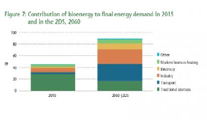 La bioenergía mundial espera cuadruplicar sus números hasta 2060