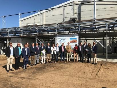 Extremadura presenta un novedoso sistema de micro-trigeneración con biomasa y termosolar