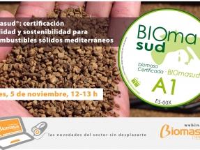 BIOmasud organiza un webinar para que se sumen más empresas al sello que certifica biomasas mediterráneas
