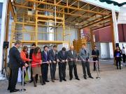 Inauguran una planta de co-combustión con biomasa
