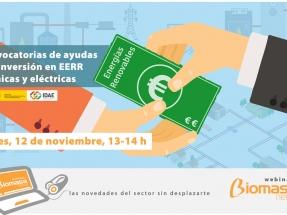 Cómo acceder a setenta millones de euros en ayudas del IDAE para la bioenergía