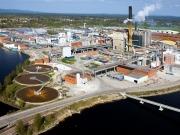 La biomasa contribuye a reducir las emisiones de las papeleras