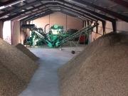 Lozoyuela inaugura una planta piloto de biomasa forestal