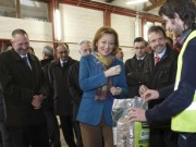 Ahora sí, se inaugura la primera planta de pelets de Aragón