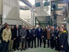 Inaugurada la primera red de calor de biomasa hibridada con una planta de cogeneración de gas-vapor