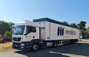 Neoelectra Logística incrementa su flota para el transporte de biomasa