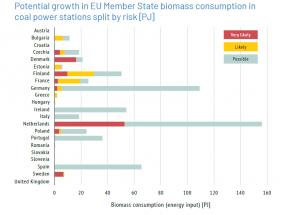 La posible, pero improbable, conversión de 67 centrales de carbón en biomasa en Europa