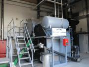 Hueso de aceituna para la energía térmica del mayor productor de vino de Extremadura