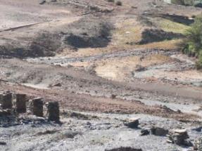 Cenizas de biomasa para descontaminar suelos mineros