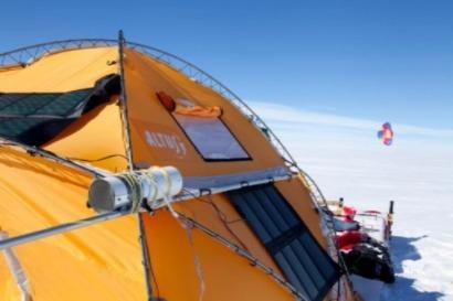 El Trineo de Viento revela la existencia de pesticidas en la Antártida