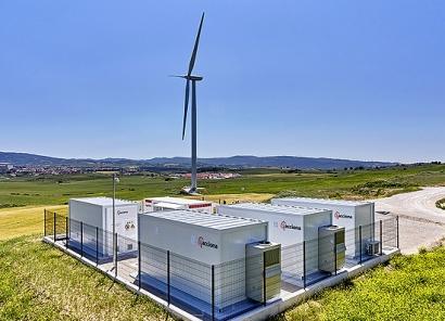 El primer sistema de almacenamiento de electricidad eólica del mundo en recibir el sello DNV GL está en Navarra