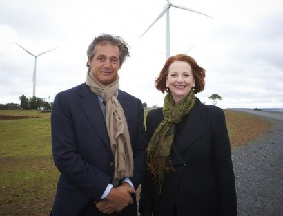 Acciona pone en marcha su tercer parque eólico en Australia