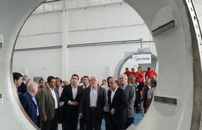 Acciona inaugura su primera planta de fabricación eólica en Brasil