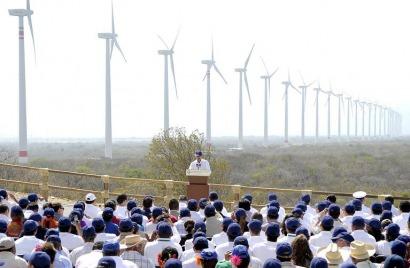 México inaugura el mayor complejo eólico de América Latina