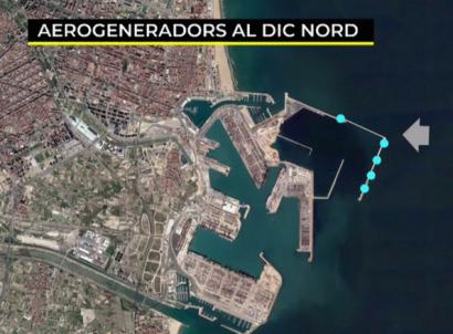 El puerto de Valencia quiere instalar hasta 24 MW de eólica en su recinto