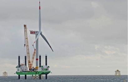 Suzlon anuncia el lanzamiento de su turbina REpower de 6,2 megavatios