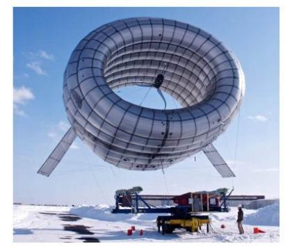 El MIT prueba un aerogenerador que flota en el aire