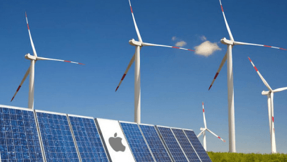 Apple se alía con la china Goldwind para desarrollar parques eólicos