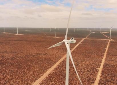 ARGENTINA: Chubut: Comienza a despachar energía el parque eólico Madryn I, de 70 MW