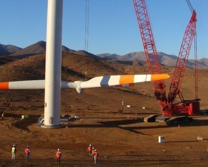 Argentina espera recibir en los próximos tres años inversiones en renovables por valor de 6.000 millones de dólares