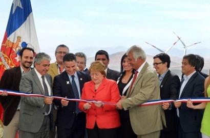 Una empresa colombiana inaugura su primer parque eólico