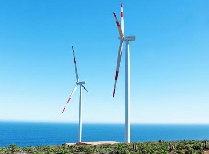 Acciona pone en marcha su primer parque eólico chileno