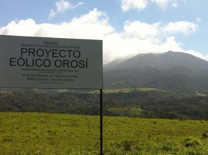 El parque eólico Orosí recibe más financiación