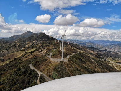 El parque eólico Villonaco cumple 6 años de exitosa operación comercial