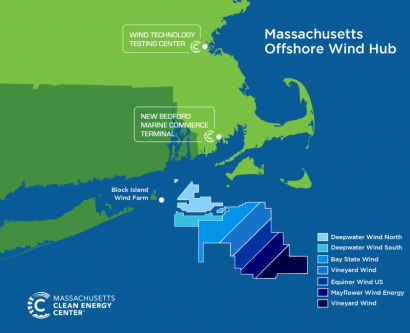 Massachusetts: Abierta la licitación para 800 MW eólicos offshore