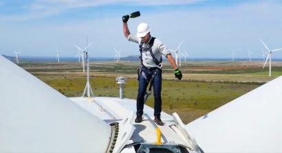 EEUU: Texas: Amazon anuncia la puesta en operaciones de su mayor parque eólico