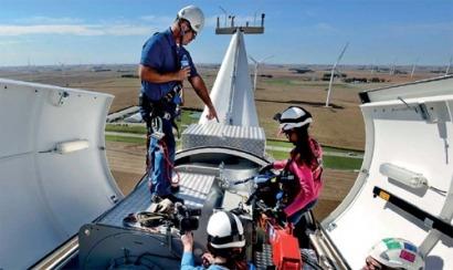 Los mantenedores eólicos también ponen nota a los propietarios