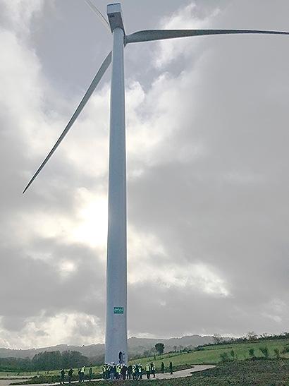 Enel Green Power España conecta dos parques eólicos en Galicia
