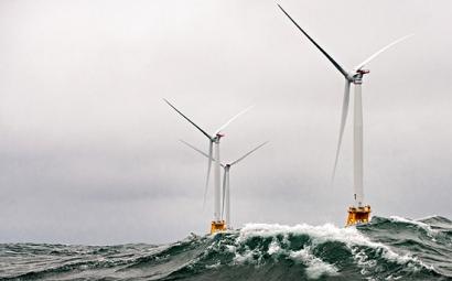 El sector eólico marino conectó en 2017 casi el doble de potencia que en 2016