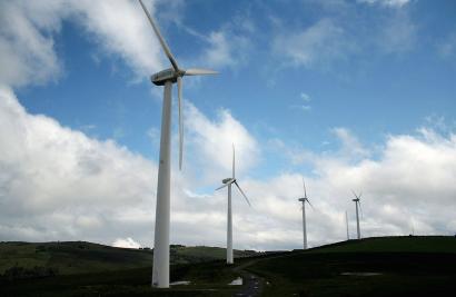 Una producción eólica récord lleva a España a marcar los precios eléctricos más bajos de la UE