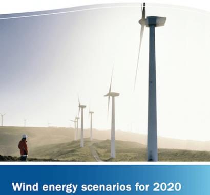 La potencia eólica en Europa crecerá un 64% hasta 2020