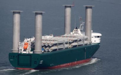 El puerto de Sagunto recibe a E-Ship 1, el buque de Enercon impulsado por el viento