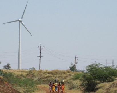 Fersa conecta el parque eólico de Bhakrani en India