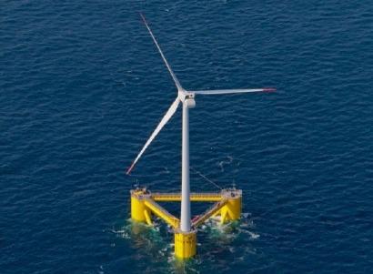 Repsol se une a un consorcio internacional para construir un parque eólico marino flotante en Portugal