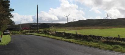 Iberdrola construirá en Escocia un parque eólico de 69 megavatios