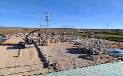 Gestacur, adjudicataria para la construcción de la obra civil de la subestación de La Loma, en La Nuez de Abajo (Burgos)