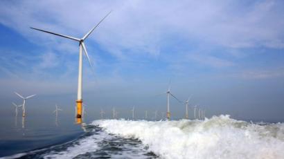 El parque eólico marino más grande del mundo acaba de entrar en operación